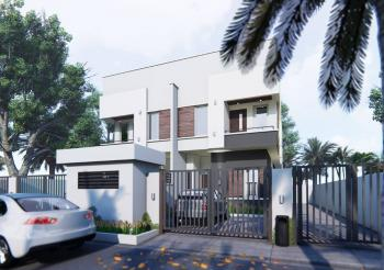 Brand New 90% Completed 4 Bedrooms House, West End Estate, Lekki County, Lekki, Lagos, Semi-detached Duplex for Sale
