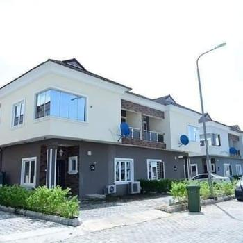 Beautifuly Built 4bedroom Semi-detached Duplexe with Bq, Back of Novare Mall,  Sangotedo Lekki, Sangotedo, Ajah, Lagos, Semi-detached Duplex for Rent