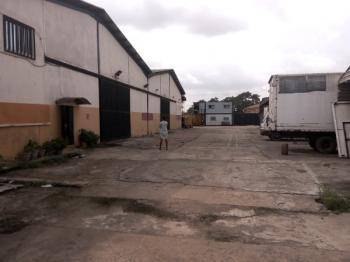 4 Bay Warehouse,6 Flats and 6 Servant Quarters, Morrison Crescent Oregun, Oregun, Ikeja, Lagos, Warehouse for Sale