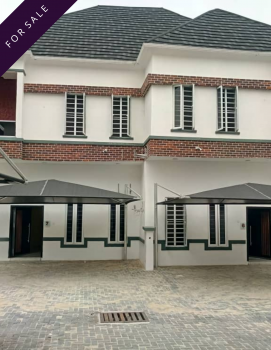 Exotically Finished 4 Bedroom Semi-detached Duplex with Facilities, 5 Minutes Drive to Jakande Shoprite, Agungi, Lekki, Lagos, Semi-detached Duplex for Sale
