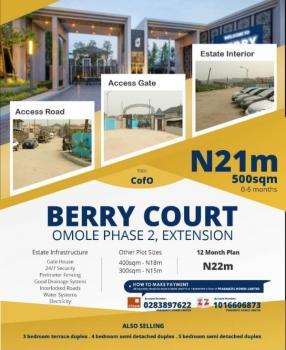 Berry Court, Land, Omole Phase 2, Magodo, Lagos, Residential Land for Sale