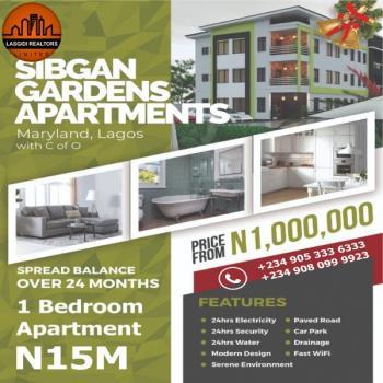 One Bedroom Apartment, Sibgan Gardens Apartment, Onigbongbo, Maryland, Lagos, House for Sale