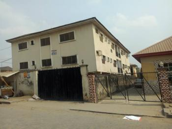 Block of 6 Flats of 3 Bedroom Each  with Big Warehouse, Lateef Adegboyega Street, Grandmate Bus Stop, Ago Palace, Isolo, Lagos, Block of Flats for Sale