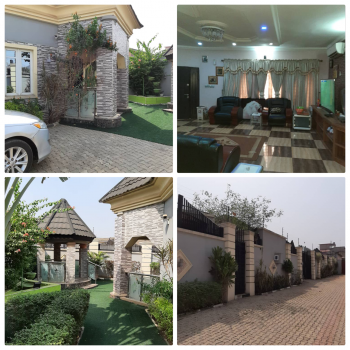 Sharp 5 Bedroom Bungalow with Pent House, Off Goodwill Estate, Ojodu, Lagos, Detached Bungalow for Sale
