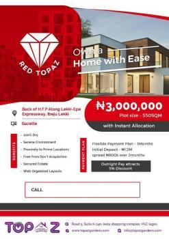 Red Topaz 100% Dry Land, By Hfp Along Lekki-epe Expressway., Eleko, Ibeju Lekki, Lagos, Mixed-use Land for Sale