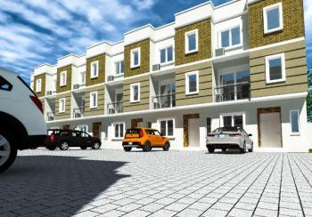 Structured Serviced Mini Estate with Exquisite Fully Finished 12 Units, Osapa, Lekki, Lagos, Terraced Duplex for Sale