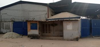 Warehouse Sitting on a Two Plot of Land, Off Intl Airport Road, Mafoluku, Oshodi, Lagos, Warehouse for Sale