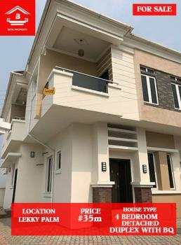 Brandnew 4 Bedroom Semi Detached Duplex, Lekki Palm City Estate Off Addo Road Ajah Lagos, Ado, Ajah, Lagos, Semi-detached Duplex for Sale