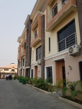 Newly Built 4 Bedroom Terrace House with 1 Room Servant Quarters, Oniru, Victoria Island (vi), Lagos, Terraced Duplex for Sale