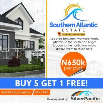 100% Dry Land with Deed & Survey Title, South Atlantic Villas, Ise/igbogun, Ibeju Lekki, Lagos, Mixed-use Land for Sale