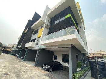Brand New 5 Bedroom Luxury Terrace House with a Room Bq, Off Bourdillon, Old Ikoyi, Ikoyi, Lagos, Terraced Duplex for Sale