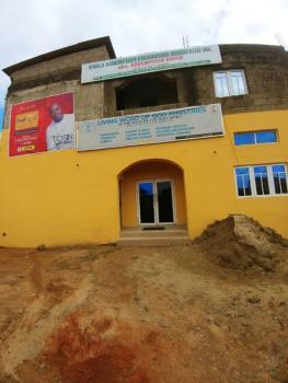 Storey Building with Large Halls, Bishop Street, Egbeda, Alimosho, Lagos, Commercial Property for Sale