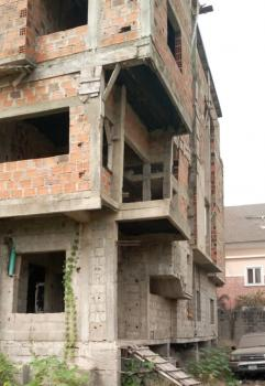 Uncompleted But Roofed Building on Four Floors., Olori Modupe Ajibola Street, Arowojobe Estate, Maryland., Maryland, Lagos, House for Sale