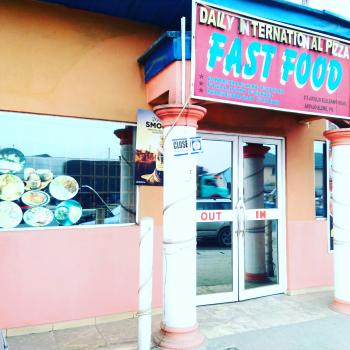 Spacious and Furnished Fast Food Shop, Elelewo-akpajo Road, Elelenwo, Port Harcourt, Rivers, Restaurant / Bar for Rent