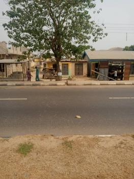 a Corner Piece Land with Structure Measuring 22ft By 52ft, Lasu Iba Road By Iba Bus Stop., Iba, Ojo, Lagos, Commercial Land for Sale