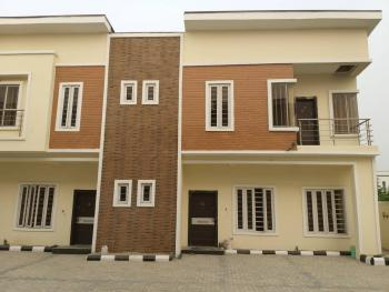 4 Bedroom Luxury and Nicely Finished Terrace with Bq, 2nd Toll Gate, Lekki Expressway, Lekki, Lagos, Terraced Duplex for Sale