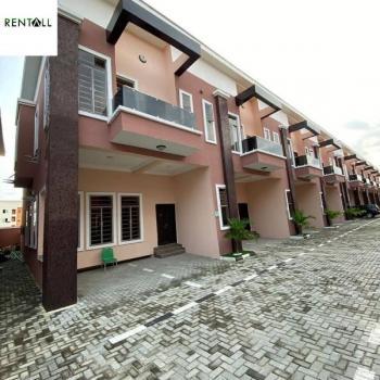 Lovely 4 Bedroom Terrace Duplex, Chevron, Lekki, Lagos, Terraced Duplex for Rent