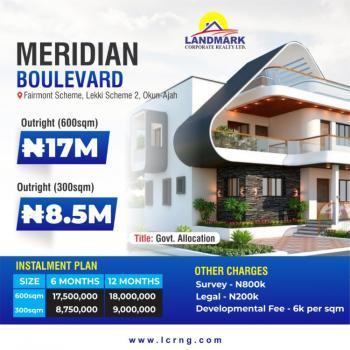 Premium Estate Land in Prime Location, Meridian Boulevard Estate, Ogombo, Ajah, Lagos, Residential Land for Sale