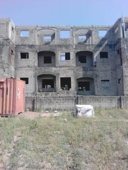 Carcass 6 Units of Spacious 3 Bedroom Flat on 1600sq M, Durumi, Abuja, Mini Flat for Sale