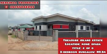 3 Bedroom Bungalow, Interchange, Mowe Ofada, Ogun, Detached Bungalow for Sale