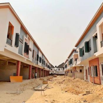 Beautiful 4 Bedroom Terraced Duplex, Chevron Estate By Second Toll Gate, Lekki Phase 2, Lekki, Lagos, Terraced Duplex for Sale