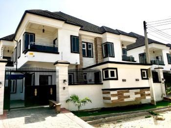 5 Bedroom Semi Detached Duplex with a Bq, Agungi, Lekki, Lagos, Flat for Rent
