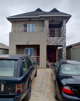 3 Bedroom Duplex, Osenatu Ilo(odo  Pako) Street 5 Mins Drive From Ait, Alimosho, Lagos, Detached Duplex for Sale