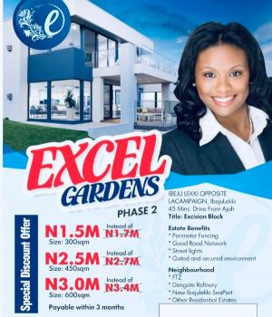 Commercial Plots, Opposite La Campagne Tropicana, Excel Gardens Phase 2, Ibeju Lekki, Lagos, Commercial Land for Sale