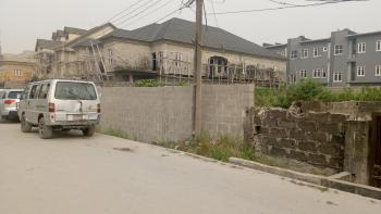 600 Sqm Corner Piece Land Facing 2 Major Roads, Along Ologolo Road, Lekki Phase 2, Lekki, Lagos, Residential Land for Sale