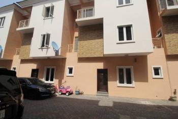 Serviced 4 Bedroom Terrace with Bq, Denco Court, Ikate Elegushi, Lekki, Lagos, Terraced Duplex for Rent