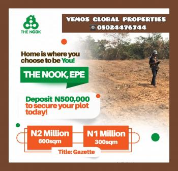Land, Epe in a Developed Environment, Epe, Lagos, Residential Land for Sale
