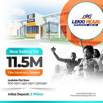 100 Percent Dry Mixed Use Land, Abijo, Behind Amuty Estate, Abijo, Lekki, Lagos, Mixed-use Land for Sale