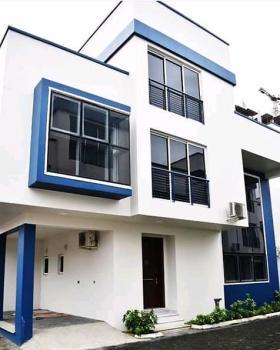 Detach 4 Bedroom Wit Bq But Share Compound As Mini Estate.swimin Pool, Off Bourdilon Ikoyi, Old Ikoyi, Ikoyi, Lagos, Detached Duplex for Sale