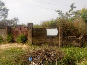 Strategic One and Half Plot of Fenced and Gated Land Near The Road, Mashallah Area Near Oritamerin, Elebu Off Akala Express, Ibadan, Oyo, Residential Land for Sale