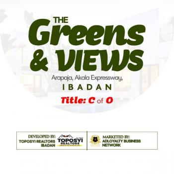 Genuine Land Fast Selling - Greens & Views*, Arapaja, Alaka Expressway, Challenge, Ibadan, Oyo, Mixed-use Land for Sale