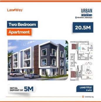 2 Bedroom Apartment, Lavadia, Urban Prime One, Abraham Adesanya, Ajah, Lagos, Block of Flats for Sale