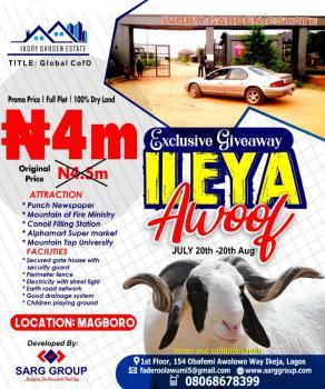 Land, Estate Avenue, Makogi Magboro, Ivory Garden Estate., Magboro, Ogun, Residential Land for Sale