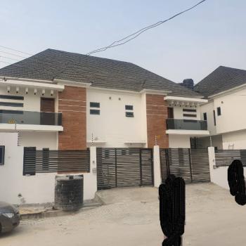 Spacious and Luxurious 4 Bedroom Semi Detached Duplex with Bq, Agungi Axis, Agungi, Lekki, Lagos, Semi-detached Duplex for Sale