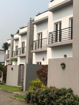 3 Bedroom Terrace with a Room Bq, Banana Island, Ikoyi, Lagos, Terraced Duplex for Rent