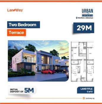 2 Bedroom Terrace, Lavadia Inside Urban Prime One, Abraham Adesanya, Ajah, Lagos, Terraced Duplex for Sale