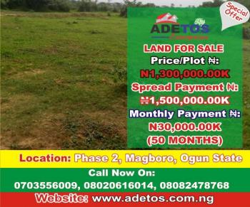 Land, Magboro, Magboro, Ogun, Mixed-use Land for Sale