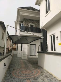 Newly Built and Well Finshed 4 Bedroom Duplex with a Room Bq, Ikota Villa Estate, Ikota, Lekki, Lagos, Semi-detached Duplex for Sale