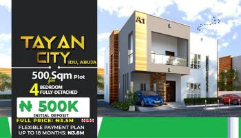 500 Sqm Estate Land, Tayan City, Idu, Idu Industrial, Abuja, Residential Land for Sale
