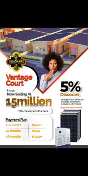 3 Bedroom Fully Detached, Bogije Along Lekki Epe Expressway, Ajah, Lagos, Block of Flats for Sale