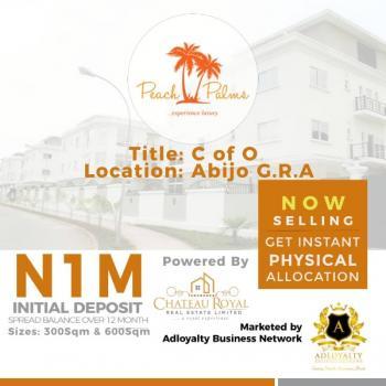 Land, Peach Palm Garden Estate, Abijo Gra By Rain Oil Gas Station, Awoyaya, Ibeju Lekki, Lagos, Mixed-use Land for Sale