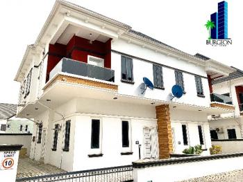Lovely 4bedrooms + 1room Bq Semi Detached Duplex, Chevron,lekki, Lekki, Lagos, Semi-detached Duplex for Rent