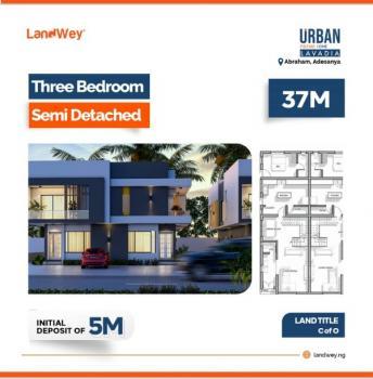 3 Bedroom Semi Detached Duplex, Lavadia Inside Urban Prime One, Abraham Adesanya, Ajah, Lagos, Semi-detached Duplex for Sale