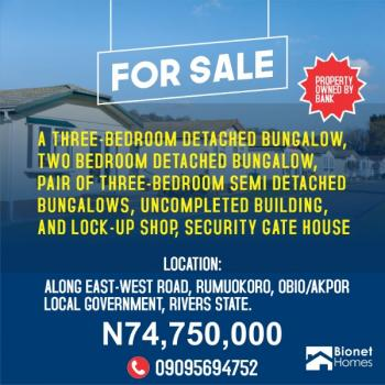 Prime Property Comprising 5 Bungalows., Along East West Road, Rumuokoro, Obio-akpor, Rivers, House for Sale