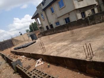 Half Plot of Land with German Floor., Campbell Street Alakuko, Ijaiye, Lagos, Residential Land for Sale