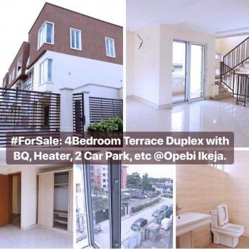 a Brand New 4 Bedroom Terraced Duplex, Opebi Ikeja, Opebi, Ikeja, Lagos, Terraced Duplex for Sale